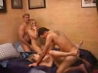 Large On Amateur Sex Wife Swap 4some
