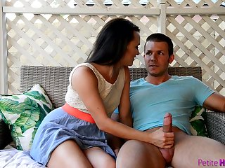 Down to fuck babe Alex More is fucked by one barely know guy