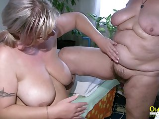 Video is picturing four horny wild older ladies sliding too horny