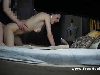 hooker on hidden cam part 1 makes me cum twice!