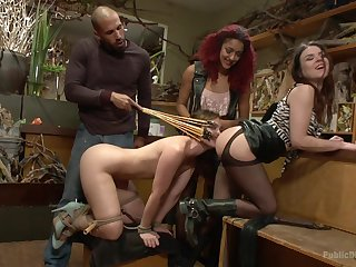Bitches are playing submissive in dirty scenes of XXX