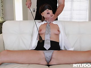 A real delight for the sleazy wife to try fetish porn