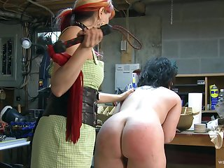 Dirty video of BDSM style sex with a slave and her dominant master