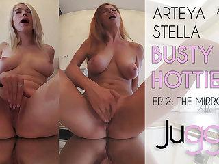 Arteya & Stella Cardo in Busty Hotties - Ep. 2: The Mirror - perVRt