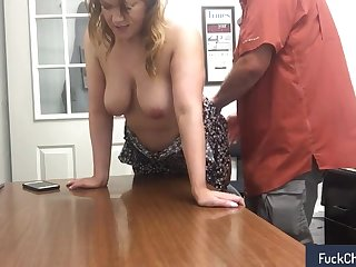 Fun with my secretary at work