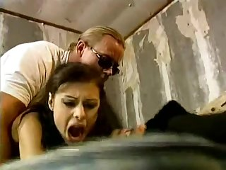 Olivia De Treville retro rough sex video