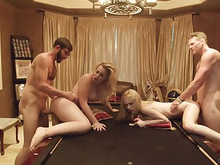 Sexy lady Candy White loves swinger fuck and enjoys brutal doggy a lot