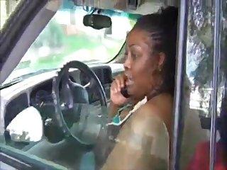 Ebony chubby MILF hard amateur porn