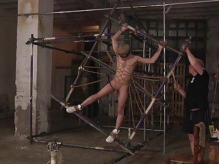 Must-see gay bondage endeavor with Sebastian Kane and Daniel Hausser