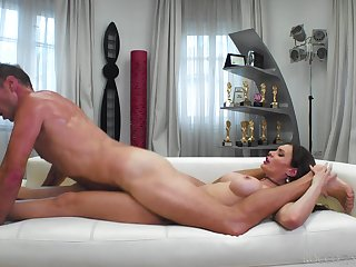 Amateur with fine ass, nasty anal tryout with Rocco