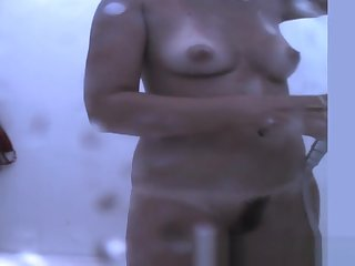 Spy Cam Shows Changing Room, Russian, Amateur Clip Exclusive Version