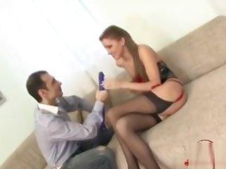Busty Girl Assfucking