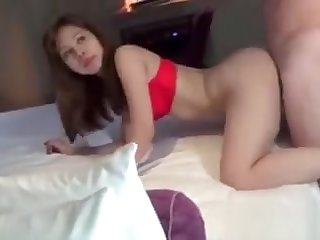 Filipina Slut Swallows a hot load cum