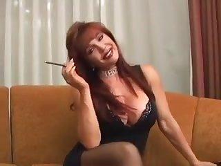 Very Hot Housewife Vanessa Smoking Before Intercourse